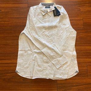 Men's Button Down Shirt Kenneth Cole